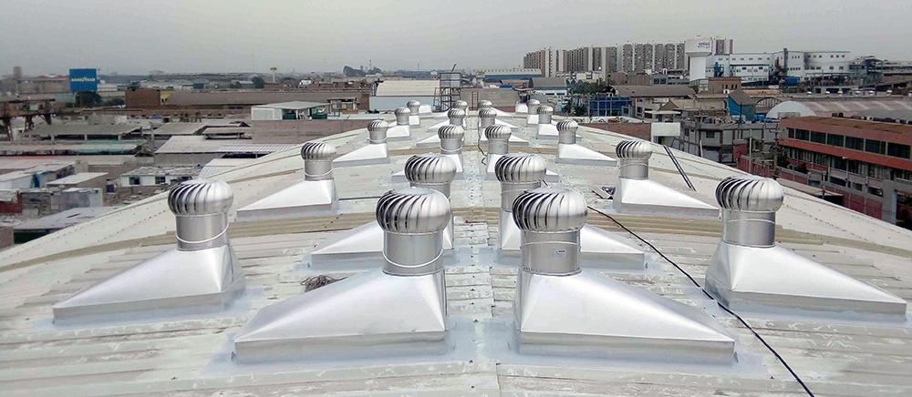 Extractores Eólicos en Callao